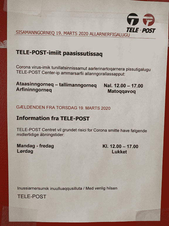 Information fra TELE-POST