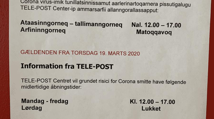 Information fra TELE-POST