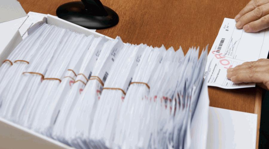 Bekendtgørelse angående fremlæggelse af folketingsvalglister